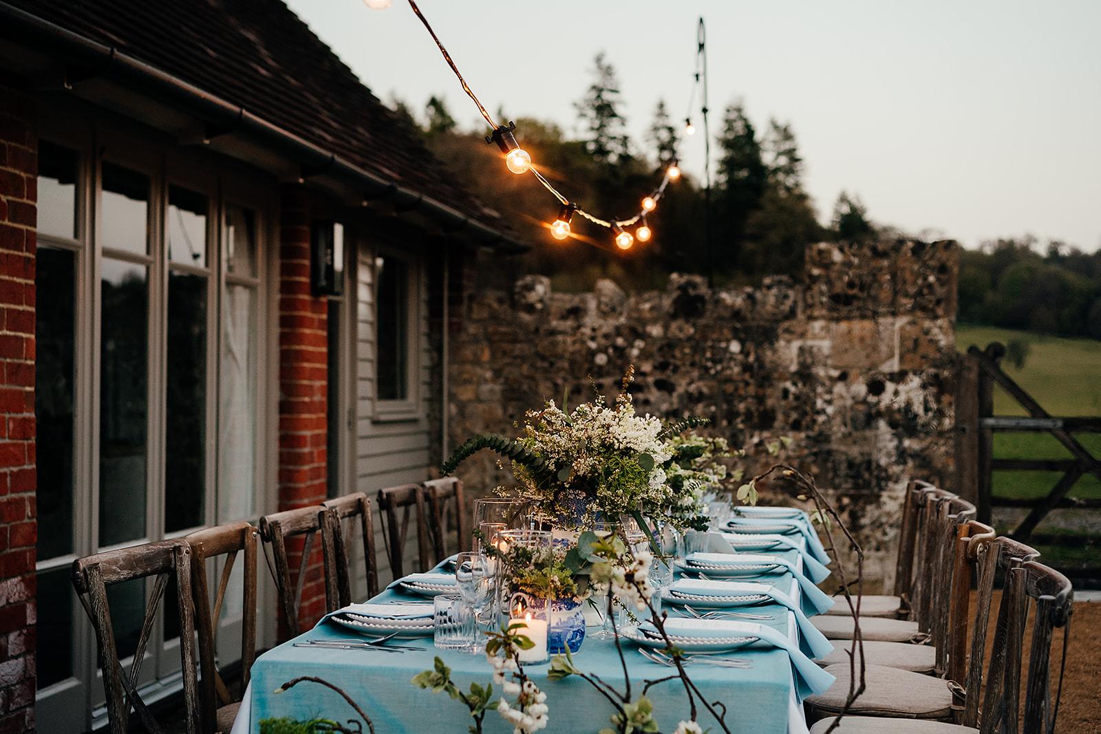 Alfresco Dinner Party