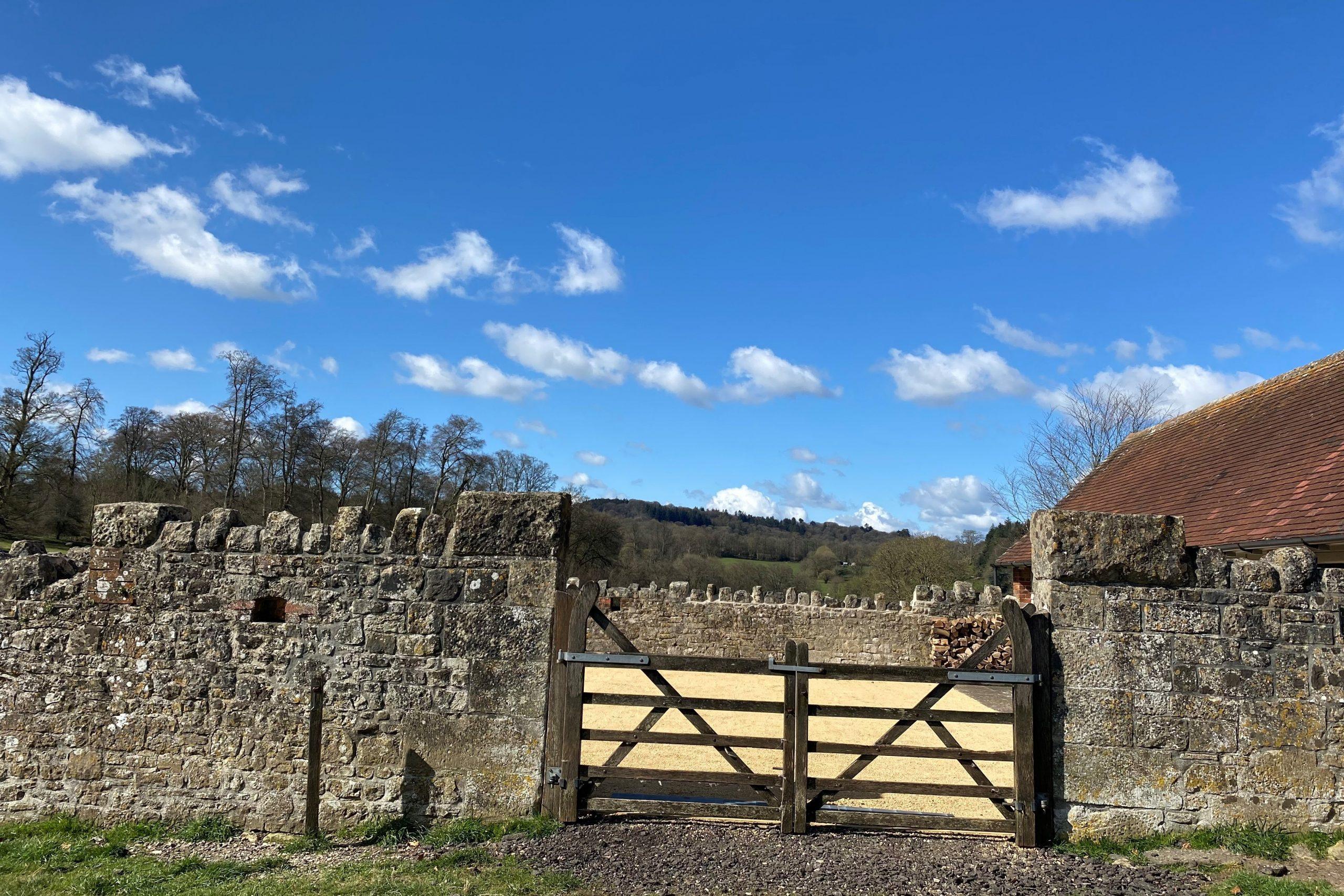 courtyard gates