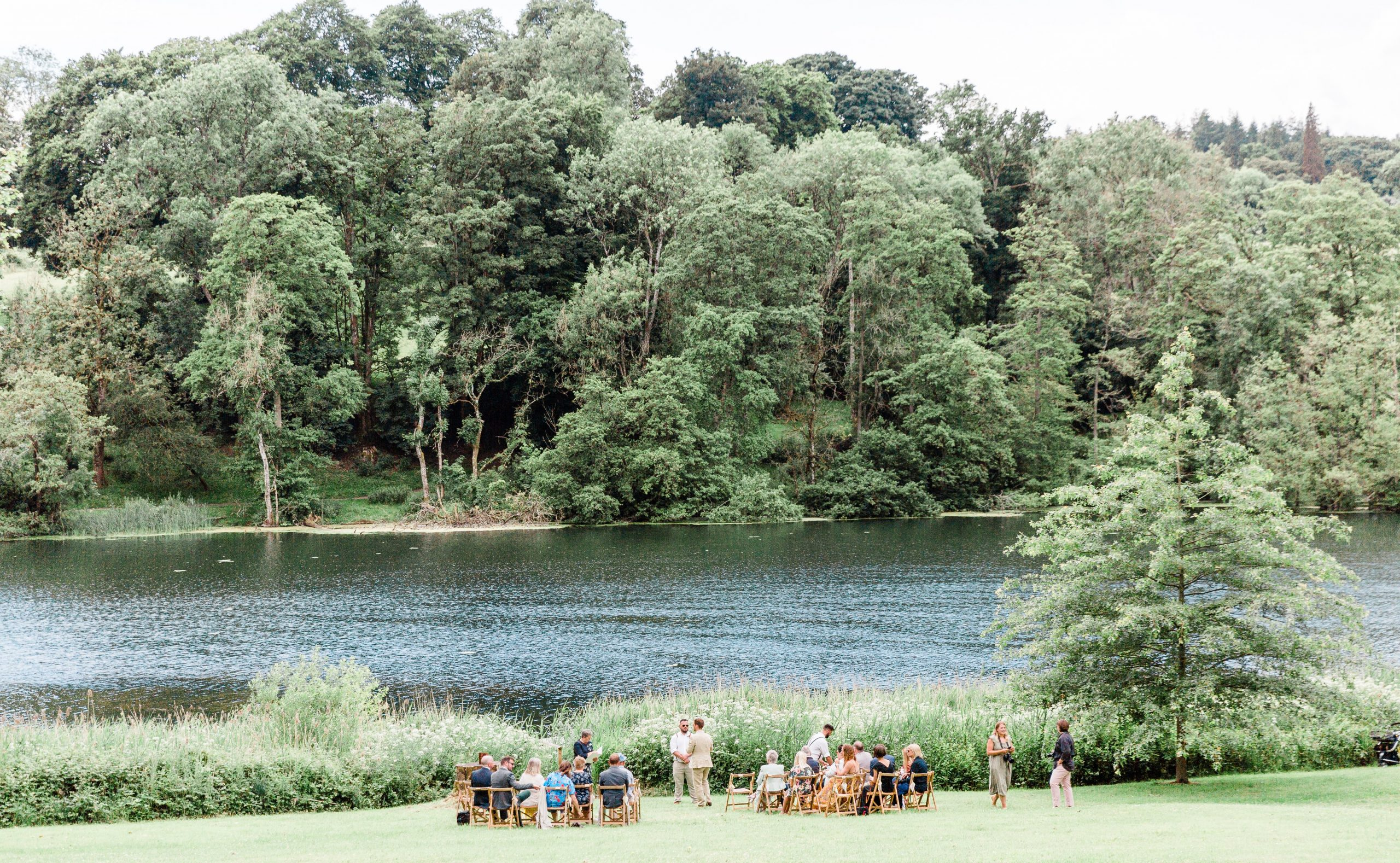 Ceremony by Fonthill Lake